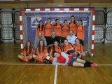 Středoškolská futsalová liga v Českých Budějovicích 2. 12. 2013