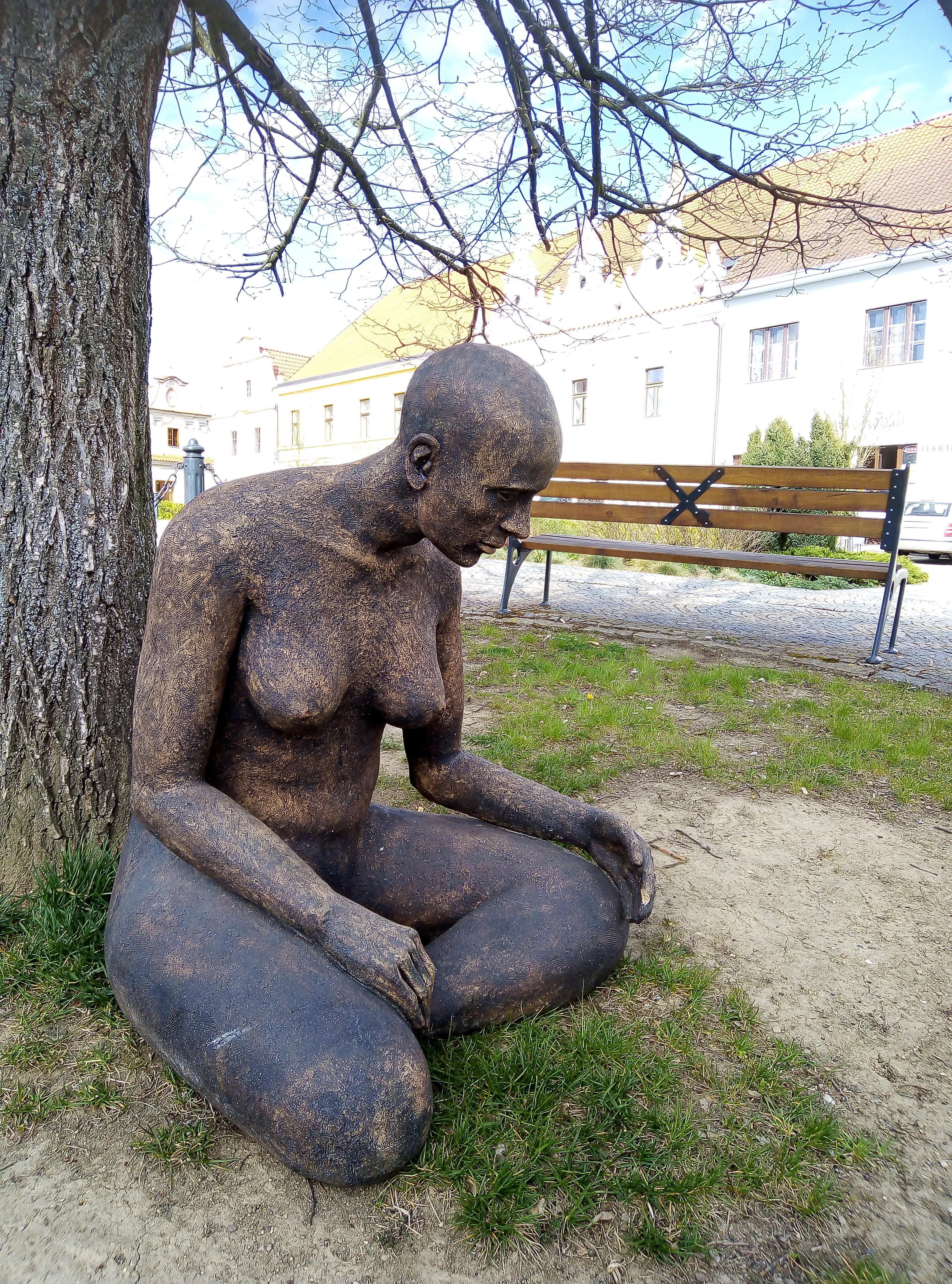 Veřejný prostor bechyňského náměstí obohatily práce studentů SUPŠ Bechyně