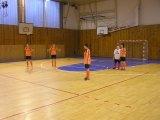 Vánoční turnaj dívek v soběslavské hale 16.12. 2014